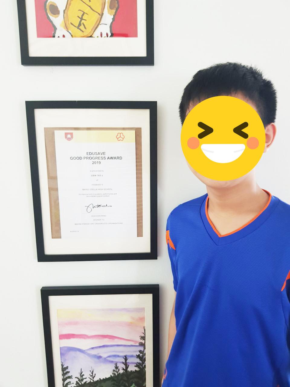 Student's Progress Award
